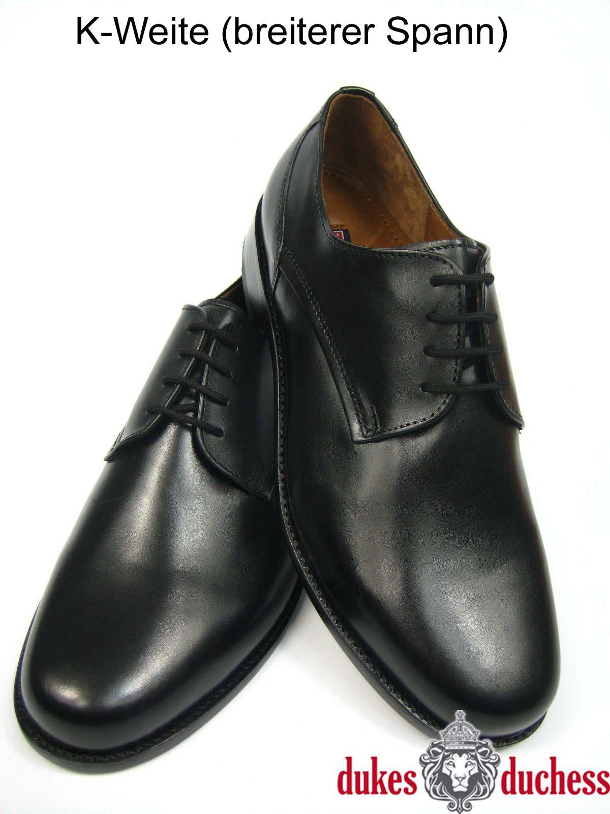 Manz Herren Business Leder Schuhe 162093 K-Weite extra weit schwarz ... d7df3adda2
