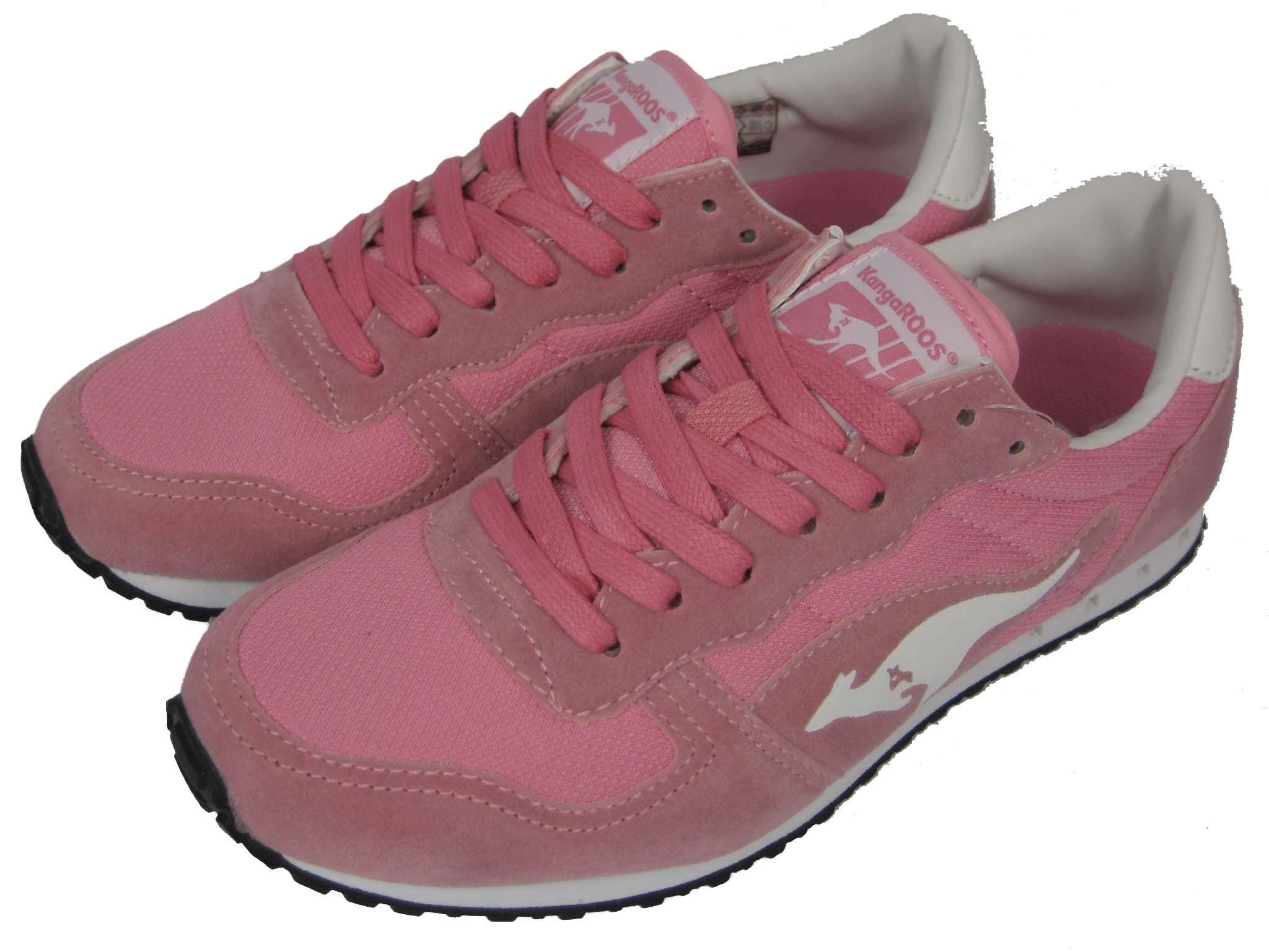 ea70b08bb4 Iii Schuh Damen Pink Rosa Kangaroos Blaze White Sneaker Laufschuh XqUx5U